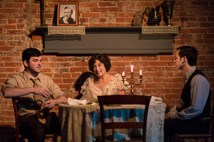 John D. DiFerdinando (Tom), Marianne Green (Amanda), Matt Zarley (Gentleman Caller)