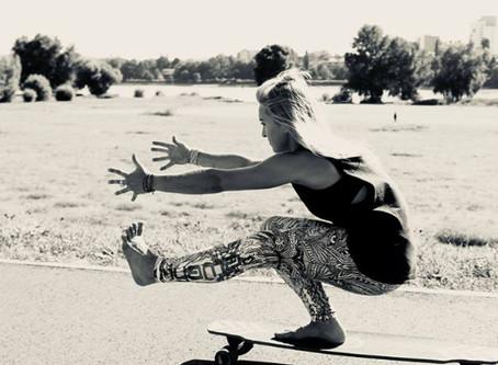 Namaskate - auf`s Brett mit Dany von Nala Yoga