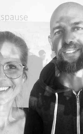 Daniela Wagner (Mimo Yoga), Marco Büscher (YogaMeditationKöln), Business Yoga