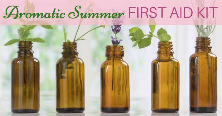 Aromatic Summer First Aid Kit