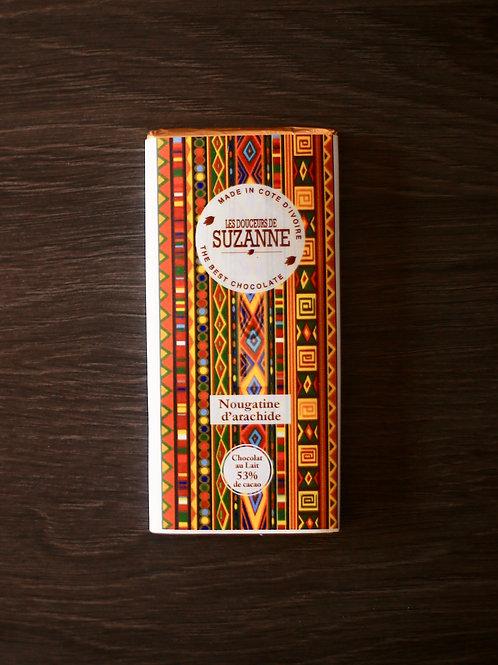 Tablettes fourrées Ivoiriennes  40 gr