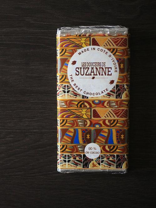 Tablette de 100 gr de 90% de cacao