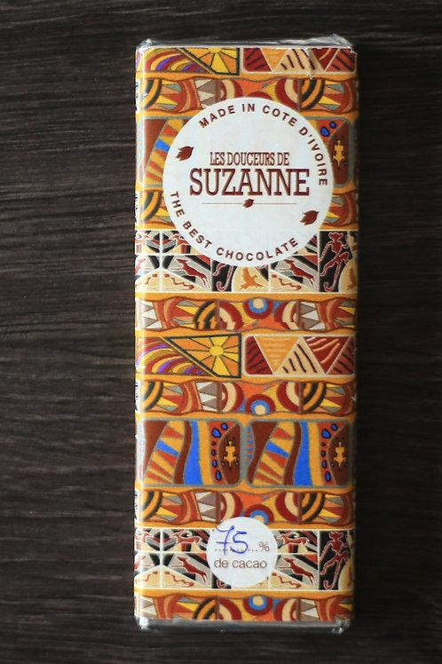 Tablette de 26 gr à 75% de cacao