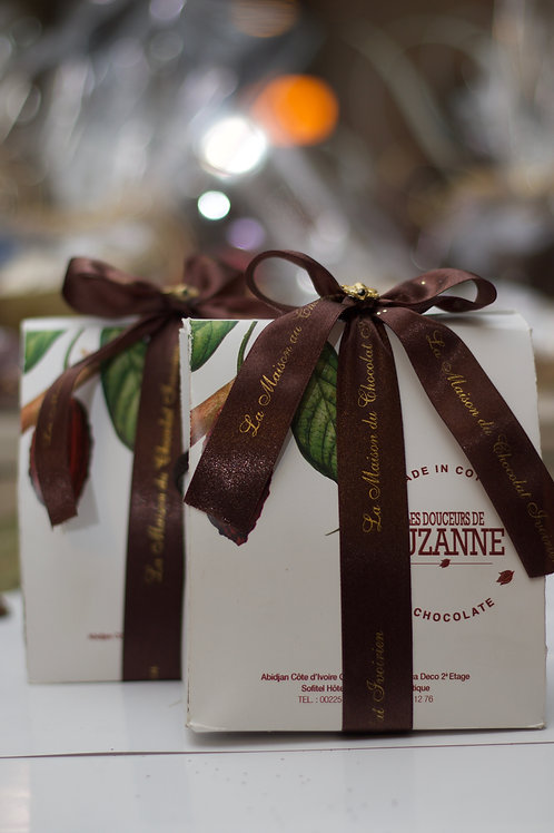 Ballotins de chocolats à différents parfums