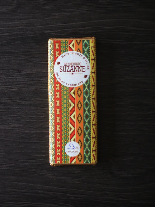 Tablette de 26 gr à 53% de cacao
