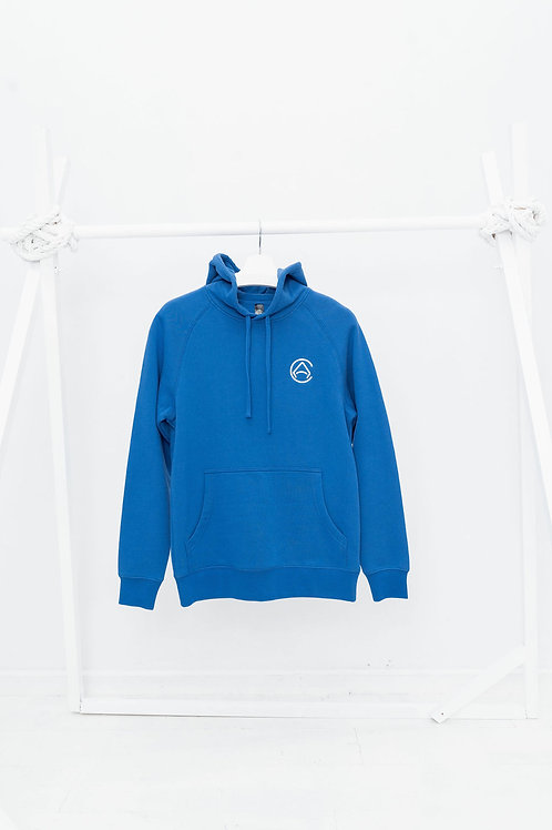 CA Light Embroidered BLUE Hoodie
