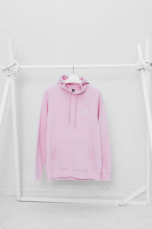 CA Light Embroidered PINK Hoodie