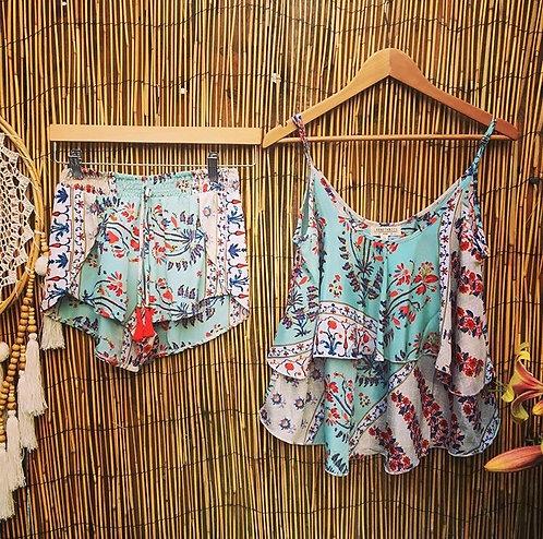 Eyota Frill Cami & Talia Shorts