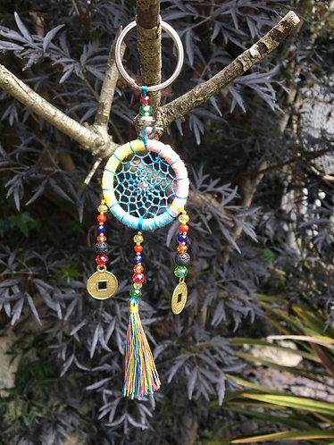 Fair Trade Dream Catcher Multi Bright