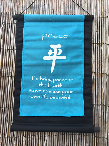 Bring Peace to Earth Banner