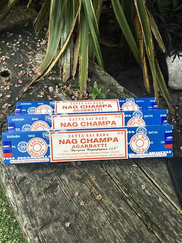 Nag Champa Incense Sticks (1 box)