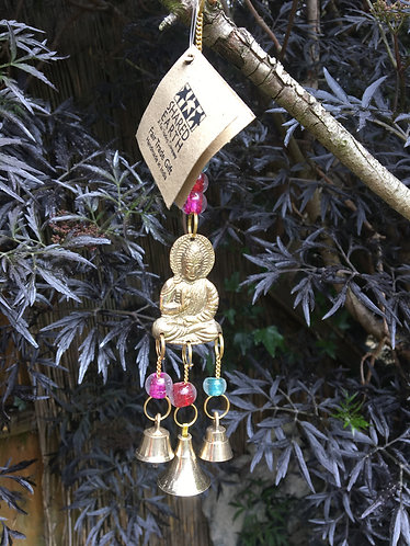Reclaimed Brass Buddha Chime