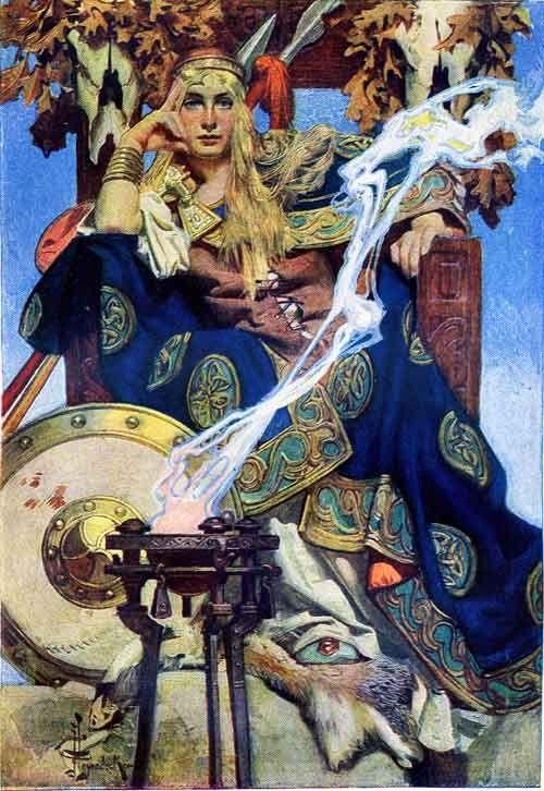 Queen Maeve, Irish Goddess of Love & War