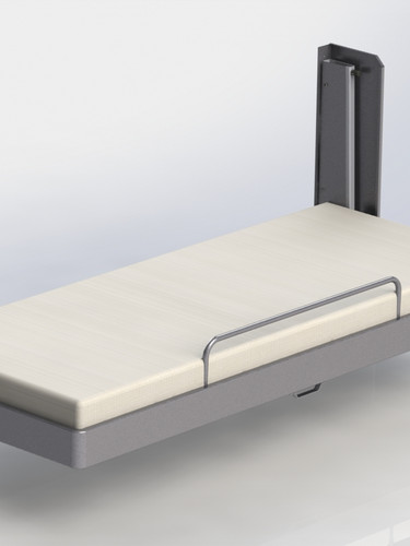 Pullman Bed Single, Folded Down