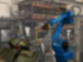 Motoman robot Sykkylven Stål AS
