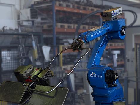 Sykkylven Stål AS Robot stålramme til sittemøbler