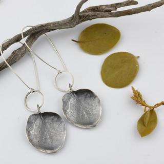 Manzanita Leaf Earrings