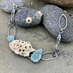 Barnacles and Aquamarine Necklace.jpeg