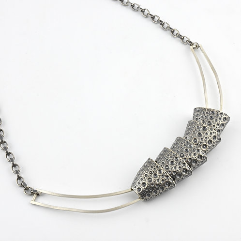 Nested Sea Urchin  Necklace