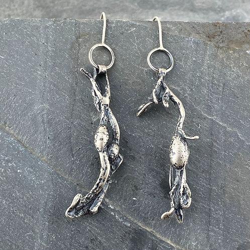 Seaweed Sprig Earrings