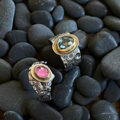 One of a Kind Rings with Stones