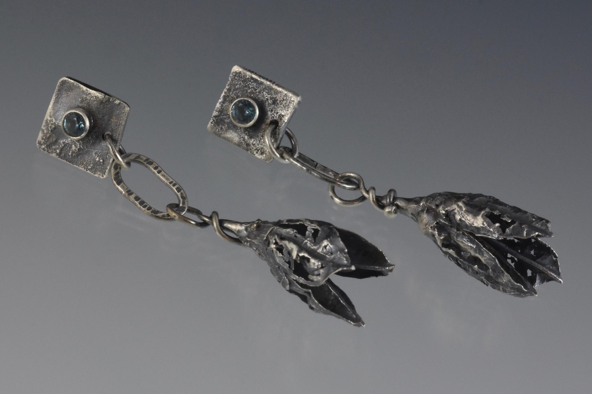 Lily Pod earrings