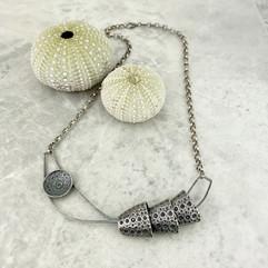 Sea Urchin Tube Necklace