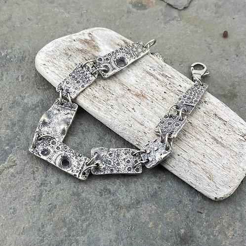 Hinged Sea Urchin Bracelet
