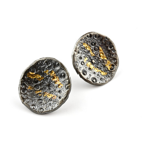 Sea Urchin Gold & Silver Posts