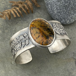 Fern cuff bracelet