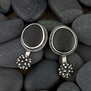 Mimosas and Beach Stones