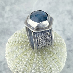 Kyanite Sea Urchin Ring