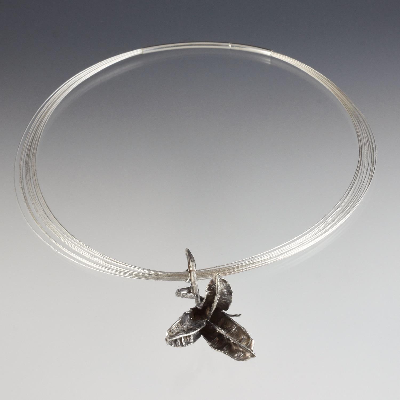 Lily Pod Necklace