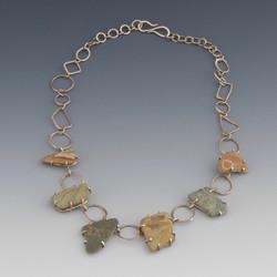 Prong Set Stone Necklace