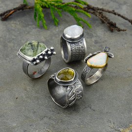 woodland collection rings