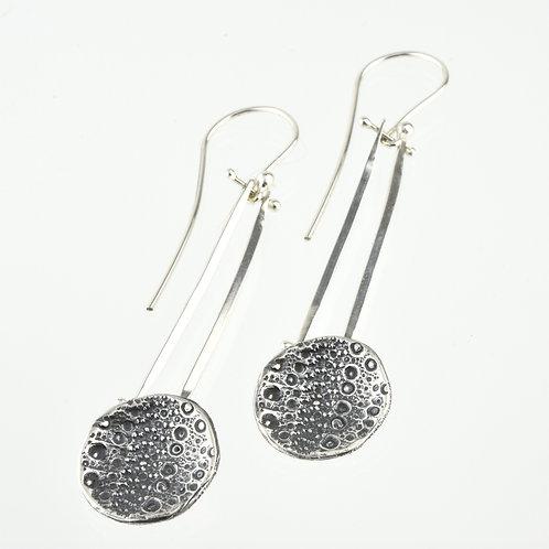 Hinged Sea Urchin Earrings