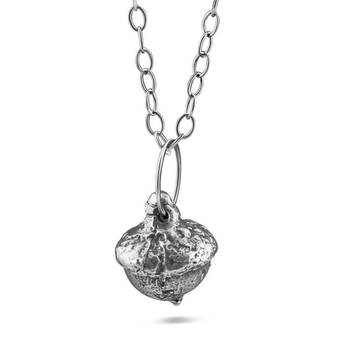 Acorn pendant necklace april ottey jewelry designer acorn pendant necklace mozeypictures Image collections