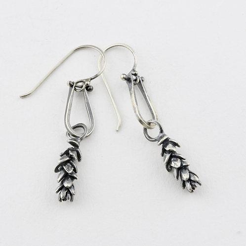 Hinged Sedum Earrings