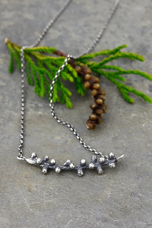 Douglas Fir Sprig Necklace