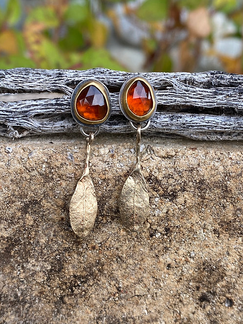 Autumn Flame Earrings