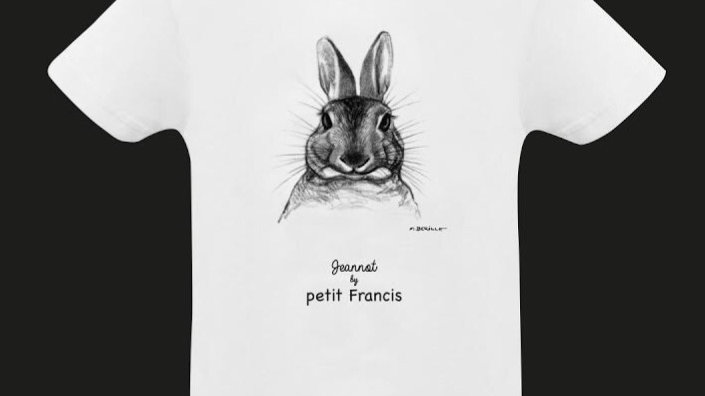 Tee-shirt Jeannot by petit Francis