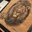 Thumbnail: Coussin carré lin Lion Lionceau