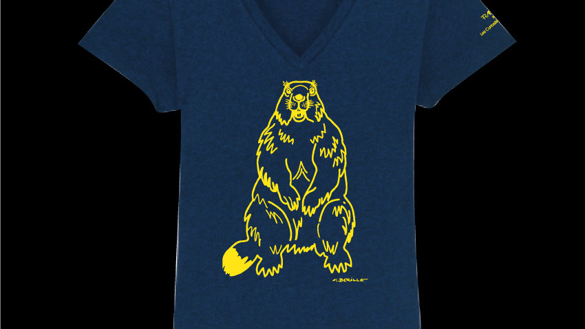 Tee-shirt Marmotte by Francis