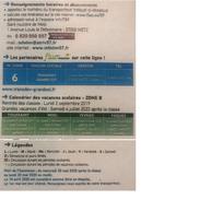 Renseignement sur horaires et abonnement