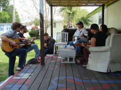 Tim White jams with Myrtle Manor folks 5-2013 (1).JPG