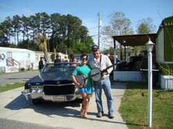 Tim White jams with Myrtle Manor folks 5-2013.JPG