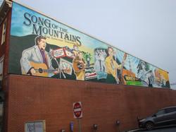 Mural in Marion, VA