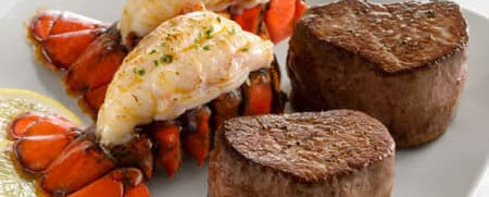 Lobster Tail and Filet/Valentine's Day Special