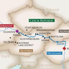 Romantic Danube Frisky Friends Wine Cruise