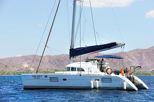 PAY IN FULL Costa Rica Catamaran Sailing